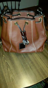 Dooney & Bourke Pebblegrain Leather Drawstring Purse