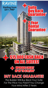 Book your condo with buyback Guarantee for More details Contact