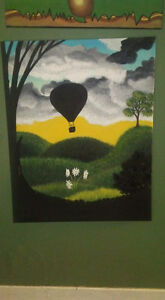 Original Hot Air Balloon painting Belleville Belleville Area image 1