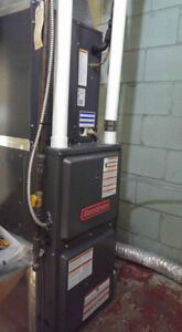Heating and Cooling water heater, red tag removal