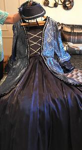 Costumes magnifiques Nouvelle-France femme