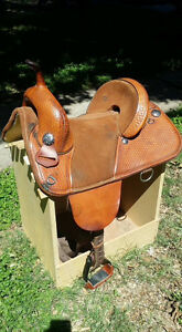 "14"" Bob Marshal Barrel Saddle"
