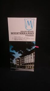Grand Hotel Mediterraneo Firenze Pamphlet