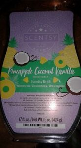 Remains of Pineapple Coconut Vanilla brick from Scentsy*