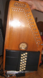 ELECTRIC AUTOHARP  New price.  Well cared for.