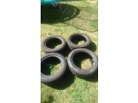 Tyres Pirelli centurato p7 225/55/17 runflat. Great condition !