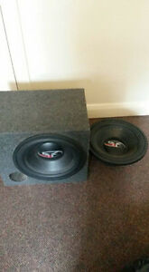 2 15inch subs for sale