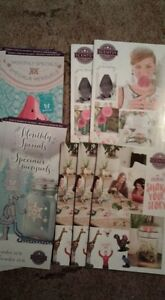 Scentsy supplies - Nov'16 & March '17 flyers, S&S 2016, F&W 2016