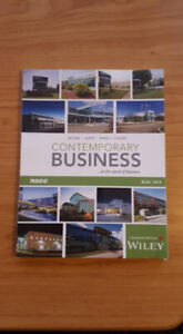 NSCCContemporary Business textbook (BUSI 1015)