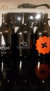 More growlers (cool decorating ideas) - mixed shapes/sizes
