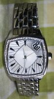 ROCA WEAR MANS BIG STAINLESS STEEL Bling-Bling with Diamonds