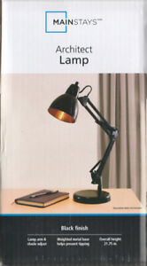 *NEW*Architect Desk Table Lamp-Adjustable Arm-Study-Work-Reading