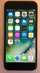 Fido iPhone 6 16gb space grey