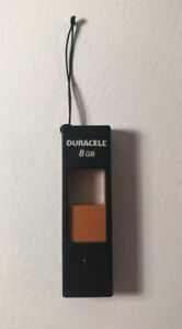 Great Condition- DURACELL 8GB Flash Memory Drive/Key