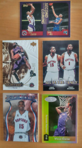 Vince Carter Toronto Raptors Basketball cards