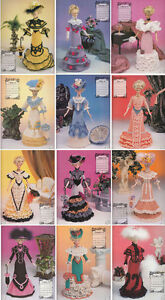 Barbie - 1996 Annie's Calendar Bed Doll Society - Edwardian Lady