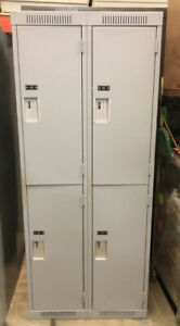Variety of lockers; Metal Lockers; Gym lockers; Two Tier Lockers