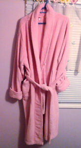 Thick plush robe