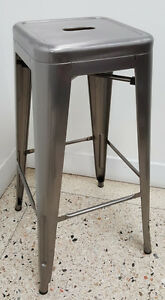 RESTAURANT INDUSTRIAL TOLIX METAL DINING CHAIR BAR STOOL Cambridge Kitchener Area image 8