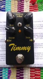 Paul Cochrane timmy v2 overdrive pedal