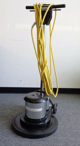 """17"""" MINUTEMAN FLOOR MACHINE, MODEL FM17, USED, WORKS, MANUFACTURED IN 2016, #8A"""