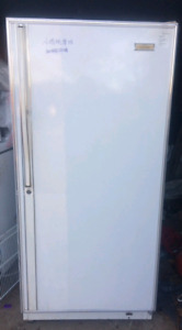 Upright freezer good work conditions delivery available