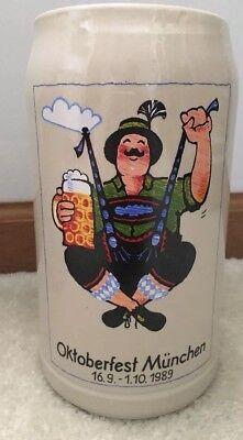 1989 Oktoberfest Rastal Beer Stein Mug Munich Germany  1L](Oktoberfest Mug)