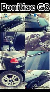2009 Pontiac G8 black Sedan