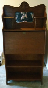 Antique Secretary desk with bookshelf on the bottom