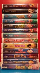 ▀▄▀Walt Disney Classic Black Diamond VHS (Lot of 19)