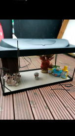 54 litre tetra fish tank