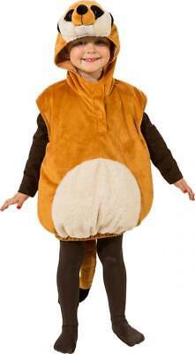 Erdmännchen Plüsch Kostüm Overall Weste Tier Tiere Zoo Hamster - Erdmännchen Kostüm