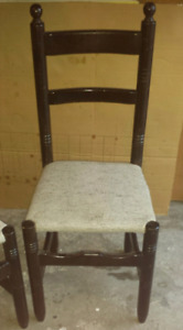 Solid pine handcrafted chairs set of 7