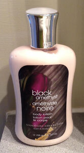 """BATH AND BODY """"BLACK AMETHYST"""" BODY LOTION....NEW! NEVER USED! West Island Greater Montréal image 1"""