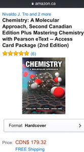 CHEMISTRY a molecular approach second Canadian edition