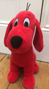 CLIFFORD Stuffed Toy - $10