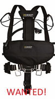xDeep Stealth 2.0 harness, and 2 or 4 steel 72 cu ft tanks!