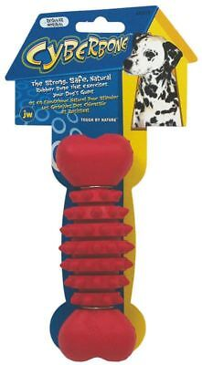JW Pet Company Cyber Bone Rubber Dog Toy Regular Colors Vary