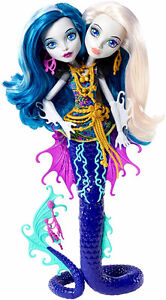 Peri & Pearl Serpentine - Monster High Doubled Headed Doll
