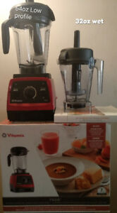 Lightly used Vitamix 7500 64 oz Low Profile container + 32 oz
