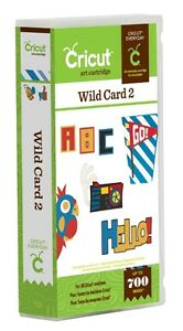 Cricut Wild Card 2 cartridge - $45