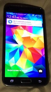 Samsung Galaxy S5 in mint condition.