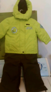 New Price! Osh kosh snowsuit, boots and mitts
