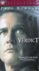 The Verdict, Paul Newman, Brand New and Packaged VHS