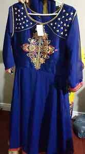 3 pcs indian anarkali suit latest version of fashion