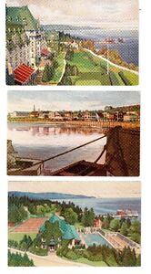 5 cartes postales  : Canada steamship lines limited .