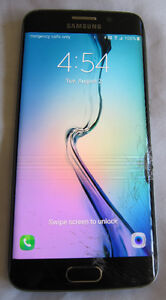 !! GALAXY**s6 Edge -- 32gb >> UNLOCKED >> ONYX / BLK >>