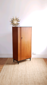 Vintage Mid Century Lebus Wardrobe - Free Local delivery