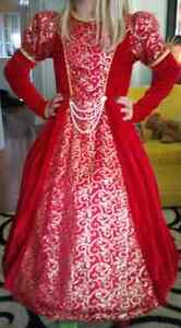 Red ballroom gown size 8/10 London Ontario image 2