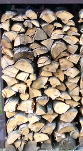 1/4 Face Cord Partially Seasoned Hickory For Smokers -St. Thomas